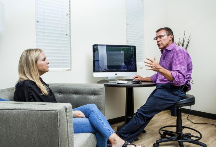 谷歌眼镜协助问诊互动